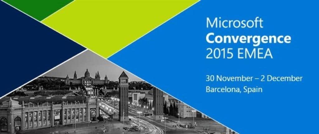 Convergence EMEA Barcelona 2015