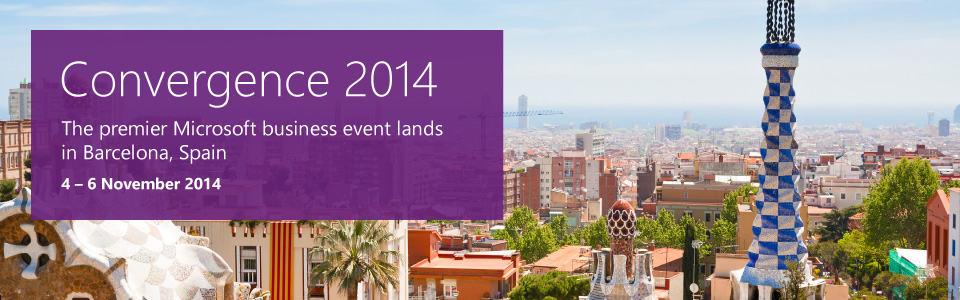 Convergence EMEA Barcelona 2014