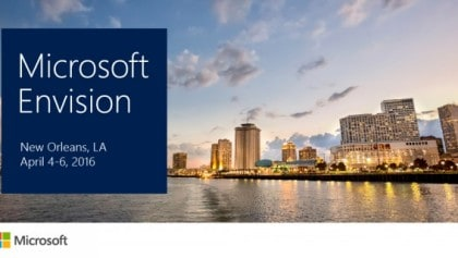 "MICROSOFT ENVISION 2016: The renewed ""MICROSOFT CONVERGENCE"""