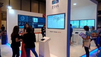 e-Show Madrid 2016: Presentation of ZEUS Smart Visual Data Solution