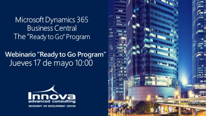 "Microsoft Dynamics 365 Business Central: Webinario ""Ready to Go"" Program"
