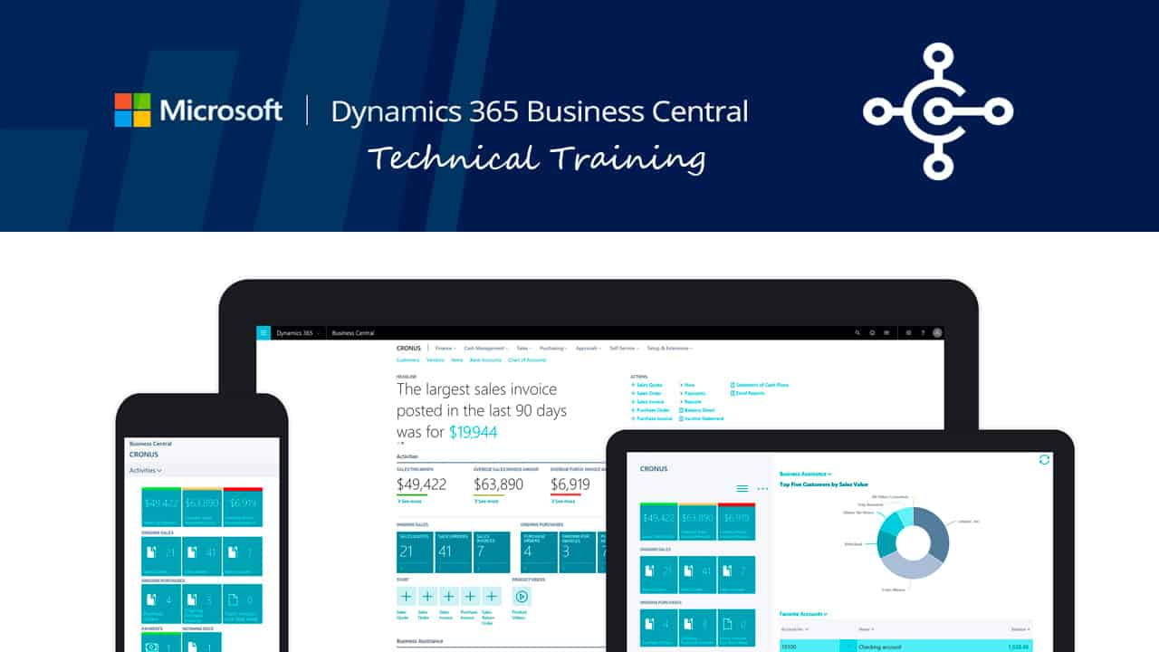 Dynamics 365 Business Central Technical Training