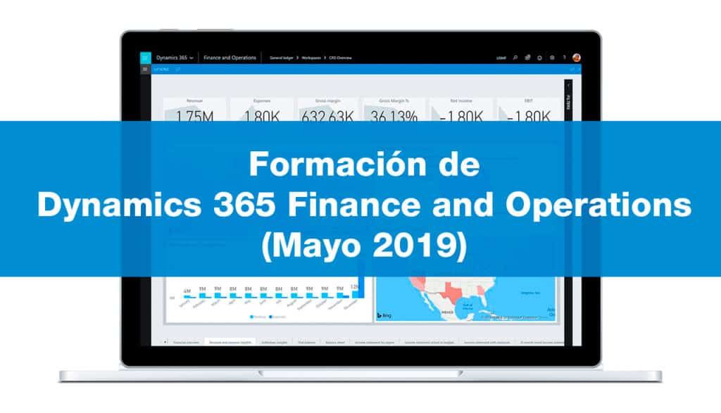 Formación de Dynamics 365 Finance and Operations (Mayo 2019)
