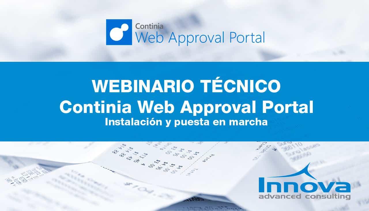 Webinario Continia Web Approval Portal: instalación y puesta en marcha (ES) 22 Mayo 2019