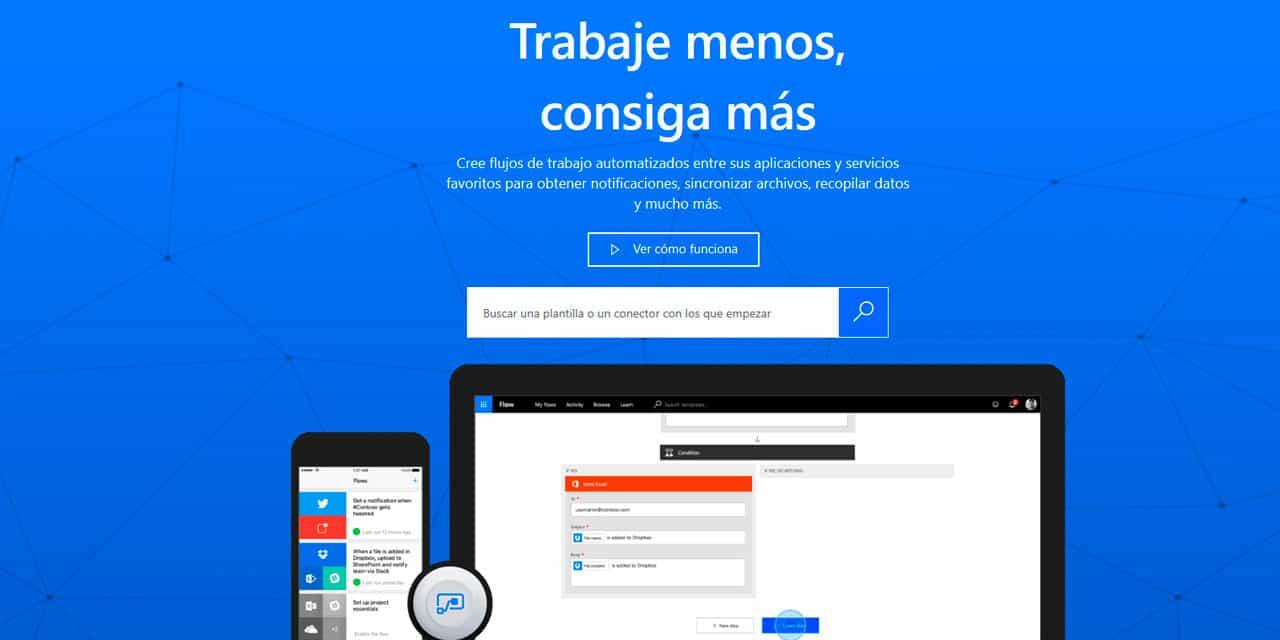 Automatiza tus tareas diarias con Microsoft Flow