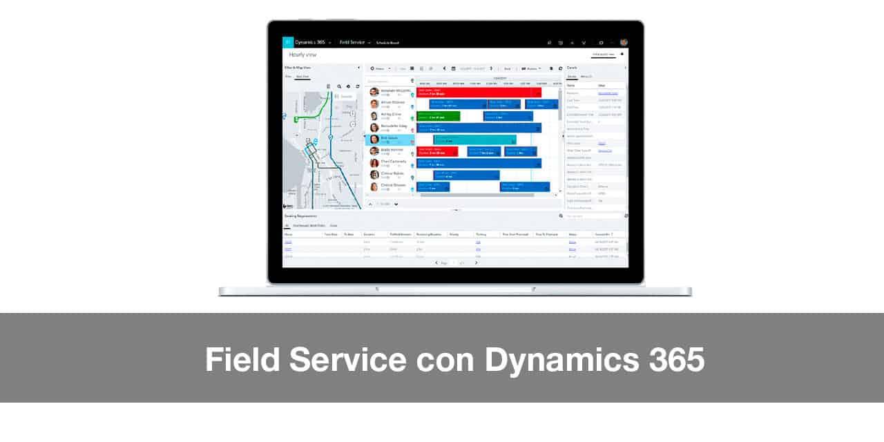 Field Service con Dynamics 365