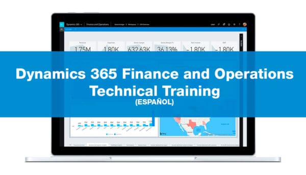 Dynamics 365 Finance and Operations Technical Training