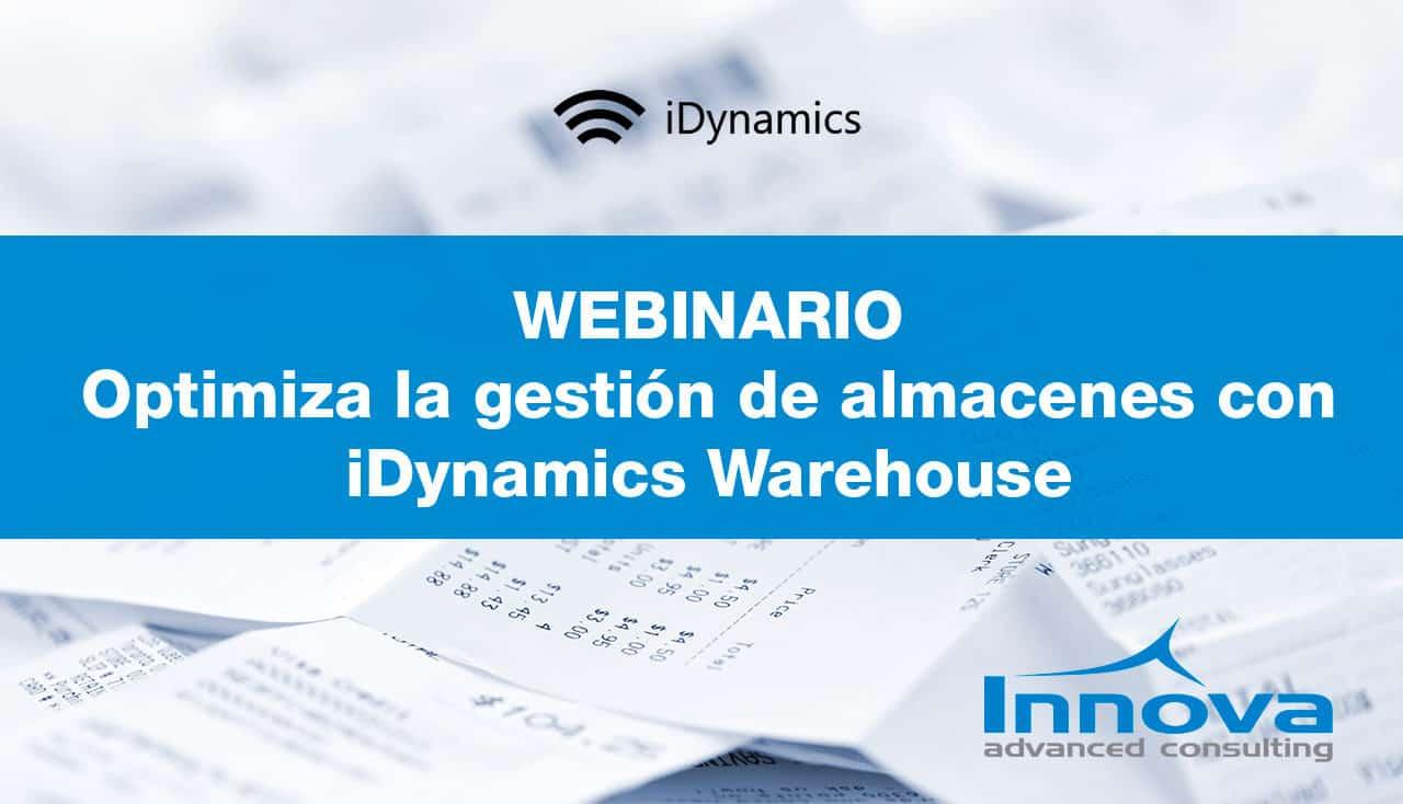 """Webinario """"Revoluciona la gestión de tu almacén conectado a tu Microsoft Dynamics"""" (ES) 7 Noviembre 2019"""