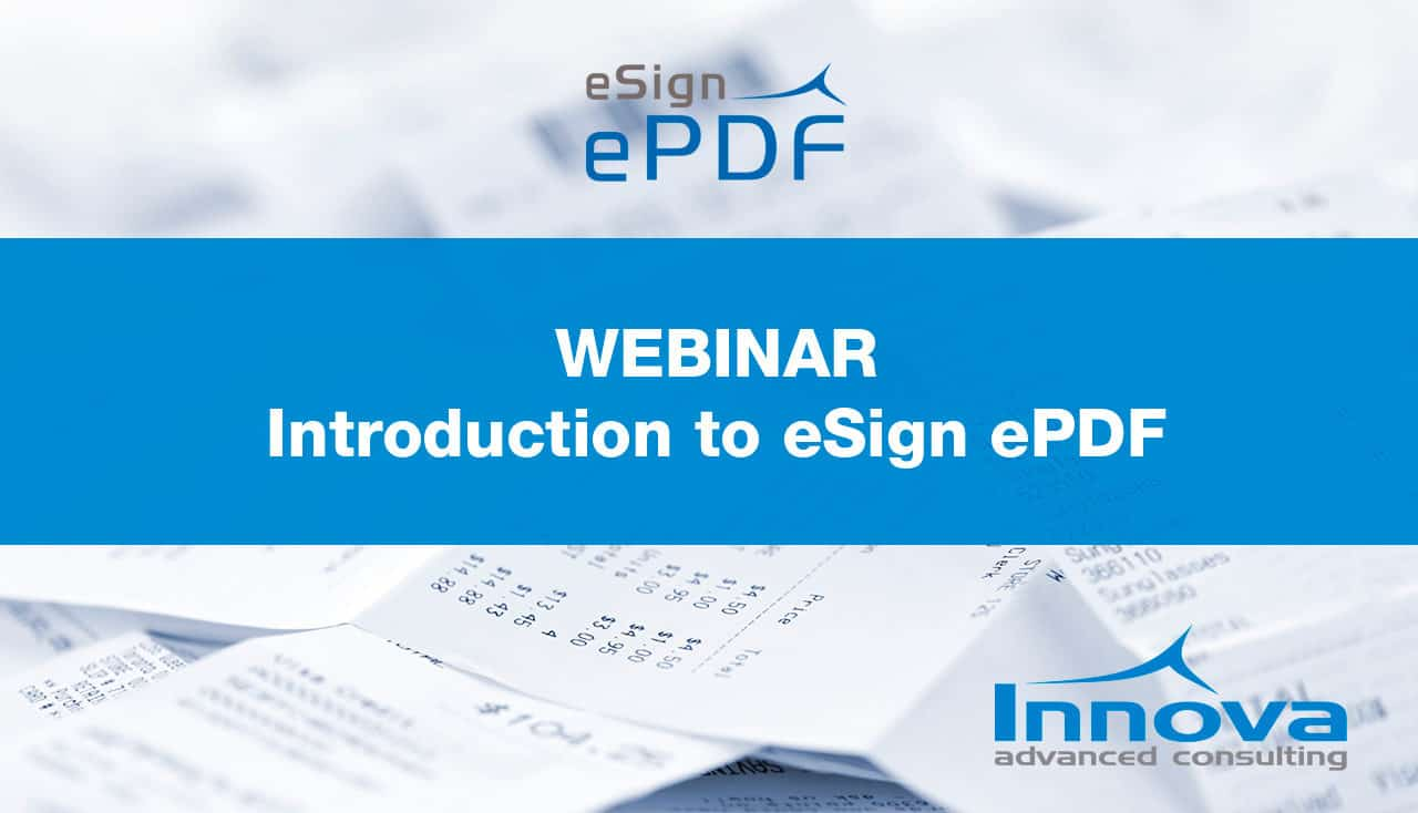Webinar Introduction to eSign ePDF (EN) 13th November 2019
