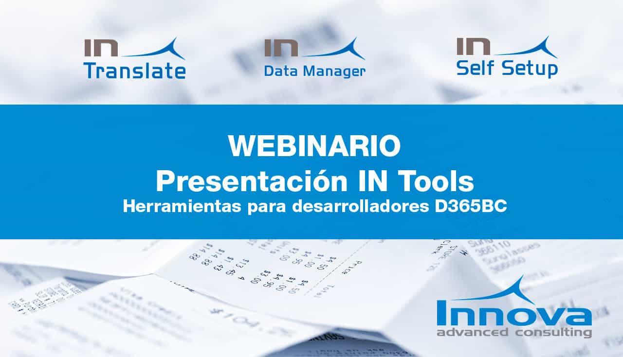 Webinario Presentación IN Tools (ES) 30 Octubre 2019