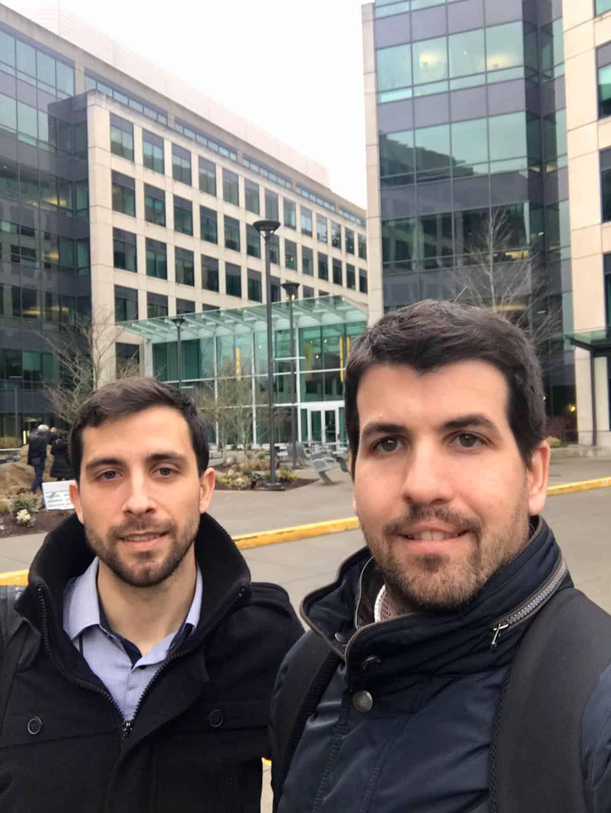 Alberto Capdevila y Nestor Cañizal en el Business Applications ISV Connect Technical Summit