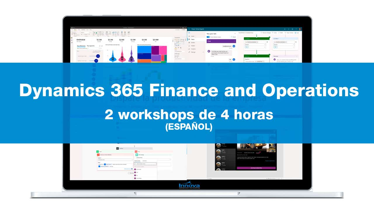 Dos workshops de Dynamics 365 F&O