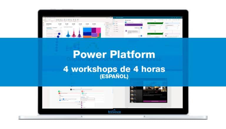 Cuatro workshops de Power Platform