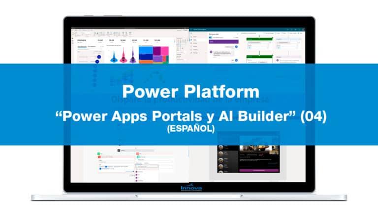 Workshops Power Platform: Power Apps Portals y AI Builder (04)