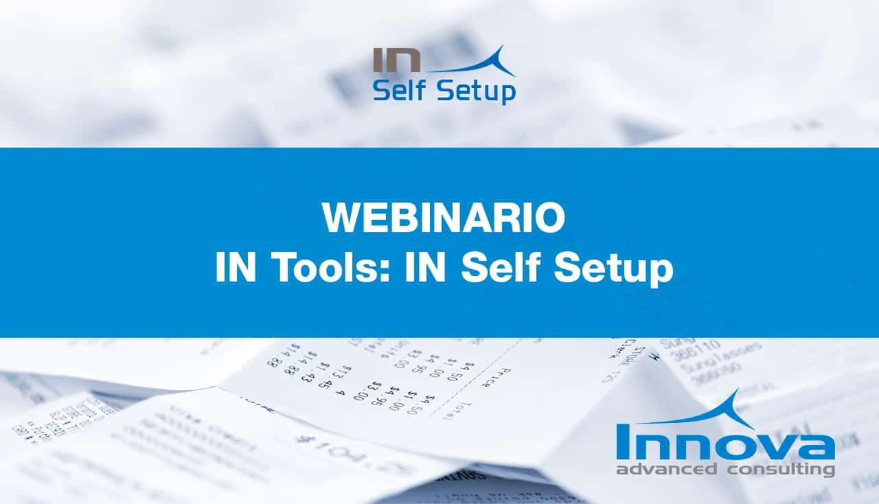 Webinario IN Self Setup (ES) 26 Marzo 2020