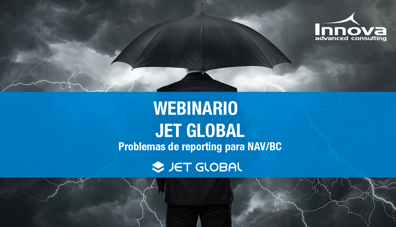 "Jet Stay at home webinar series: "" Problemas de reporting para NAV/BC"""