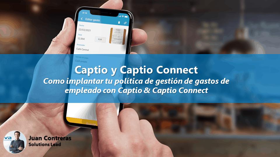 Webinario: Como implantar tu política de gestión de gastos de empleado con Captio & Captio Connect