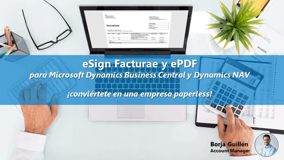 Webinario eSign Facturae y ePDF: ¡conviértete en una empresa paperless con la Factura Electrónica!